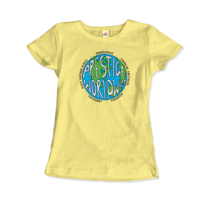 Prestige Worldwide Step Brothers Artwork T-Shirt - Women / Spring Yellow / Small by Art-O-Rama