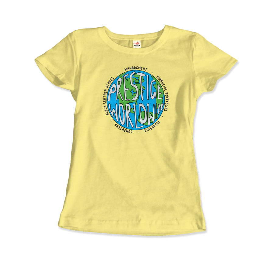 Prestige Worldwide Step Brothers T-Shirt - Women / Spring Yellow / Small by Art-O-Rama