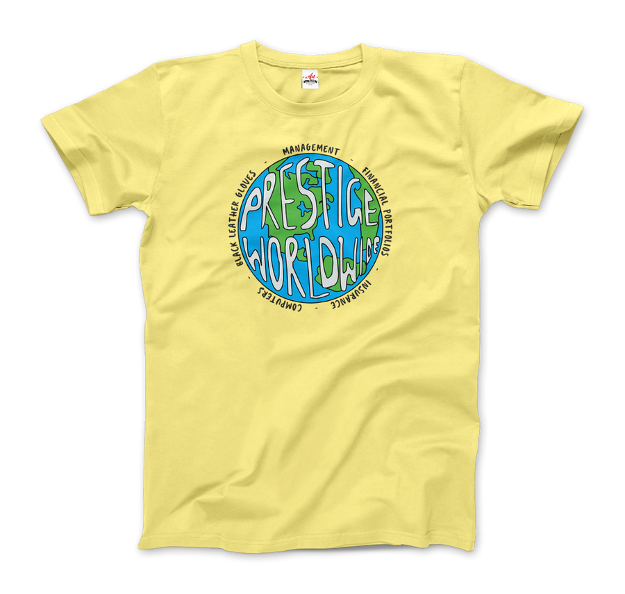 Prestige Worldwide Step Brothers T-Shirt - Men / Spring Yellow / Small by Art-O-Rama