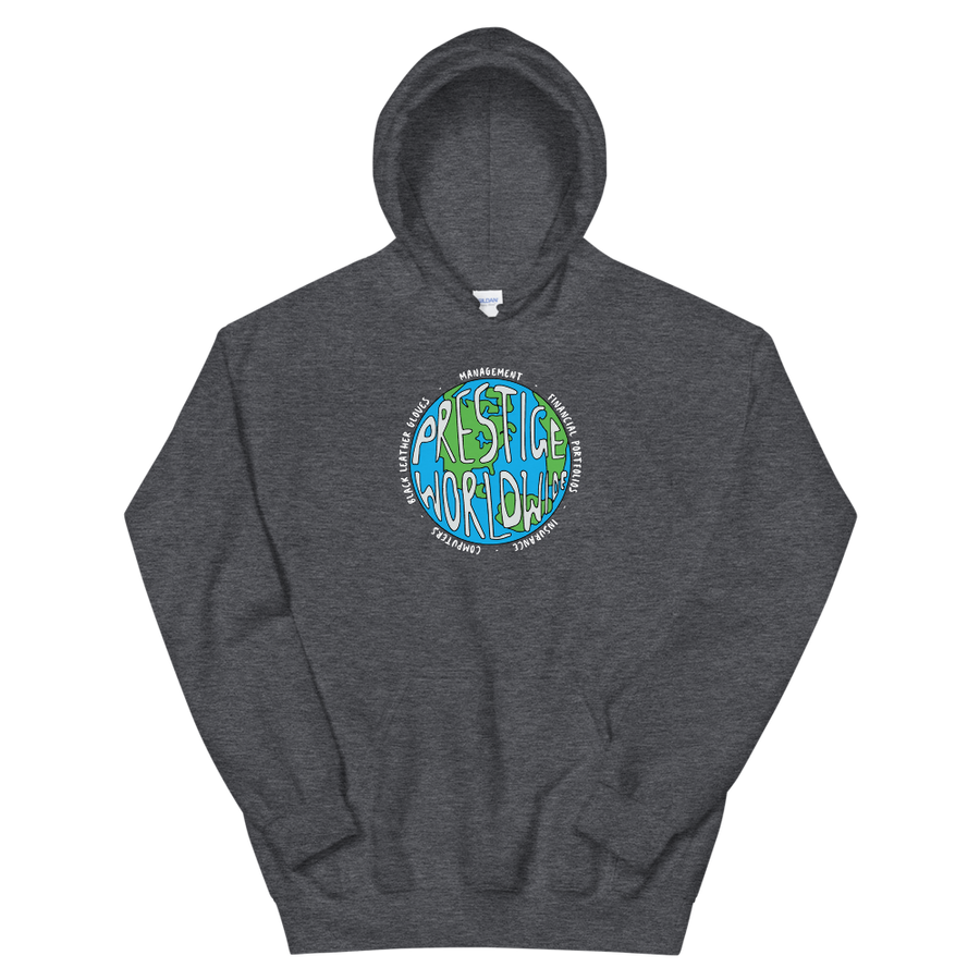 Prestige Worldwide Step Brothers Unisex Hoodie - Dark Heather / S by Art-O-Rama