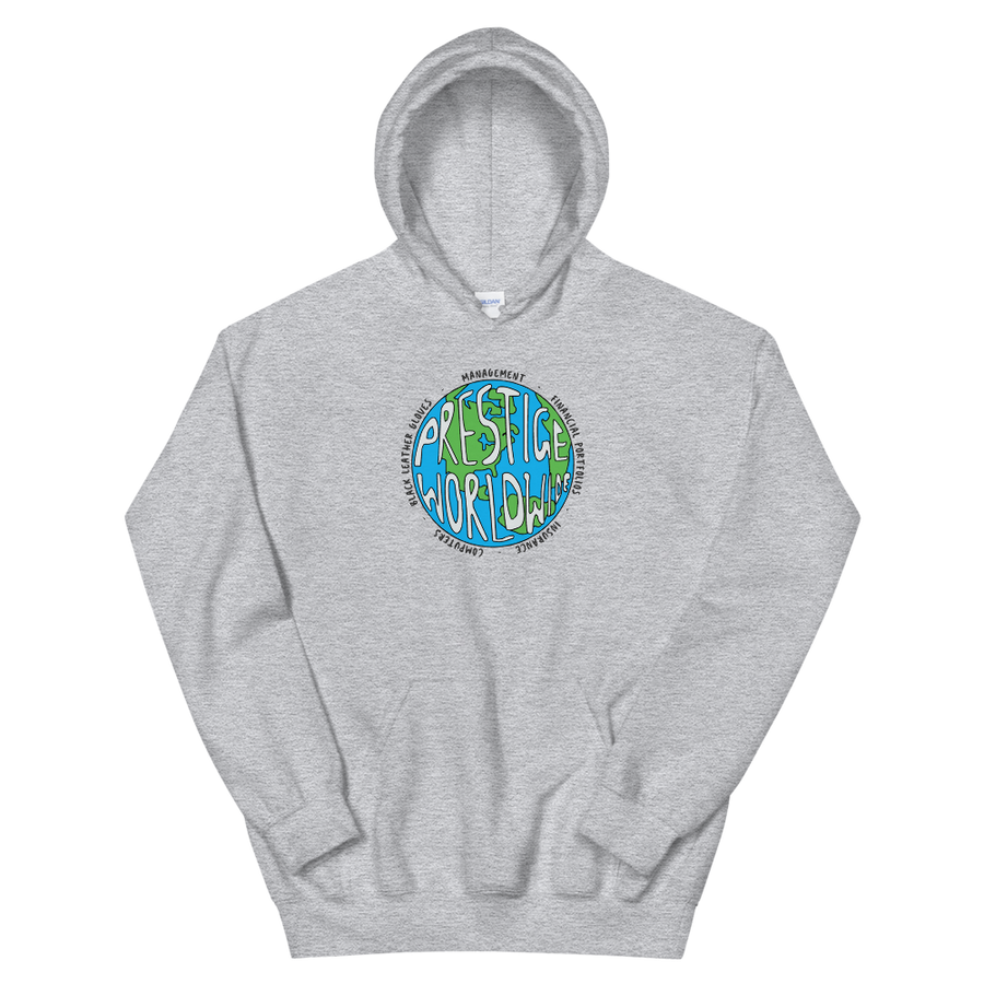 Prestige Worldwide Step Brothers Unisex Hoodie - Sport Grey / S by Art-O-Rama