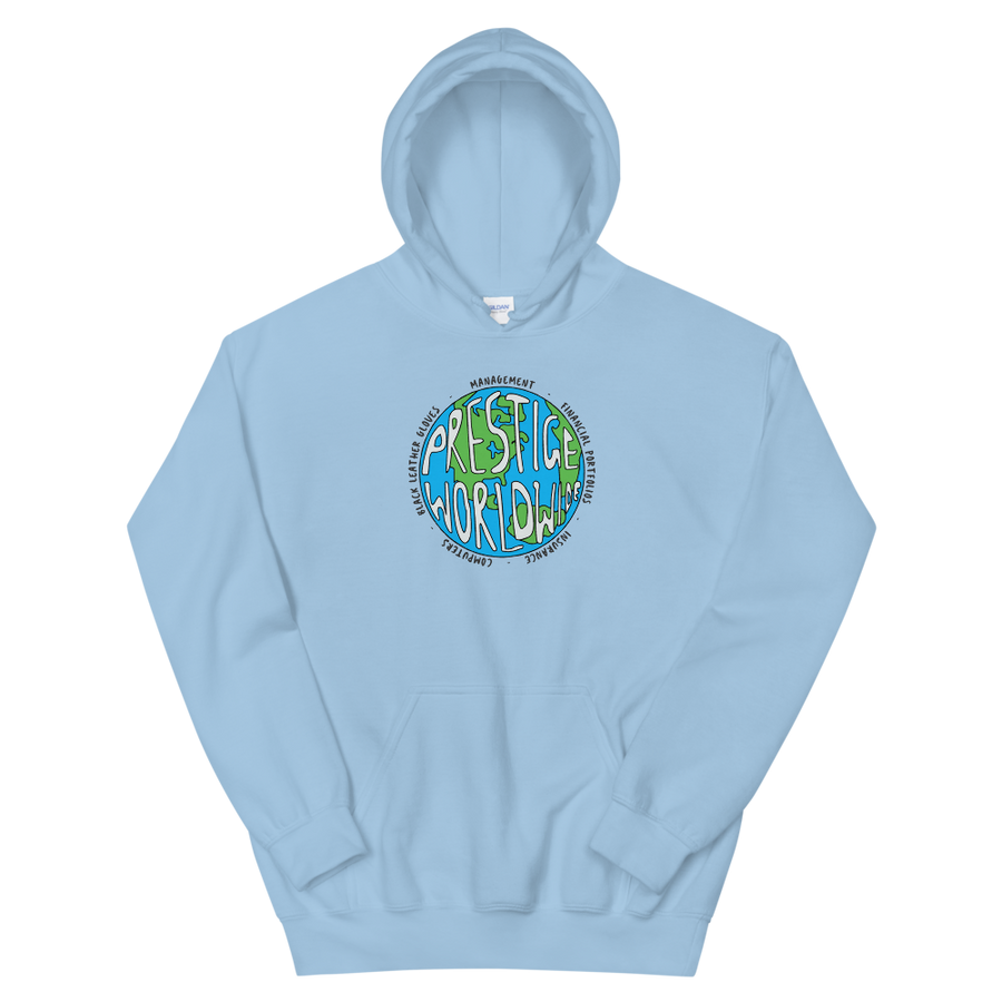 Prestige Worldwide Step Brothers Artwork Unisex Hoodie - Light Blue / S - Hoodie