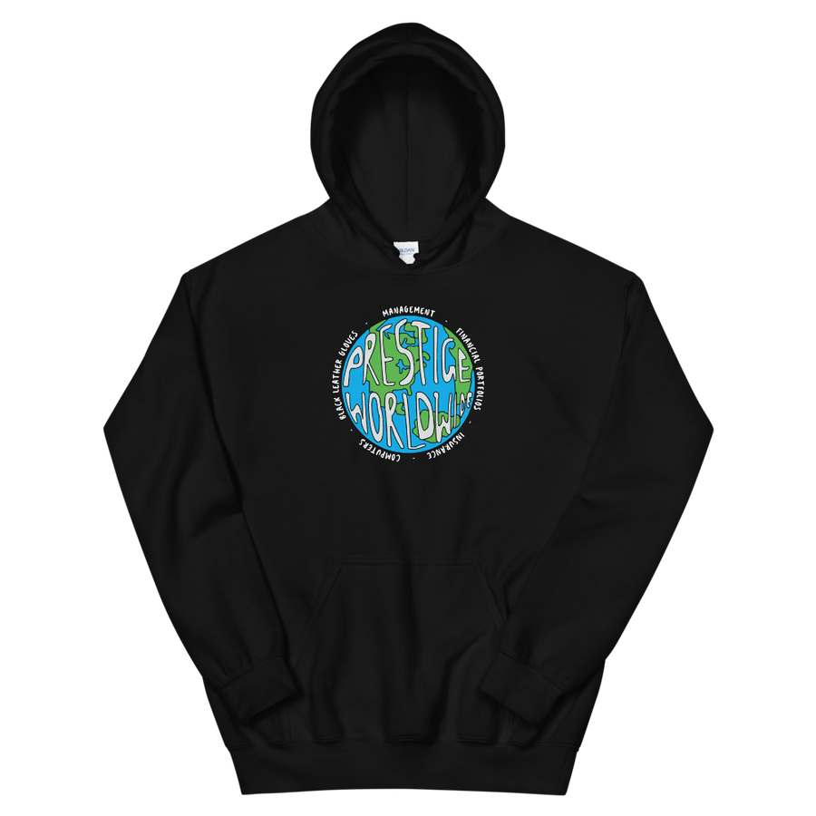 Prestige Worldwide Step Brothers Unisex Hoodie - Black / S by Art-O-Rama