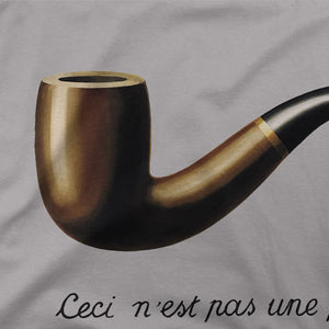 Rene Magritte This Is Not A Pipe, 1929 Artwork T-Shirt - [variant_title] by Art-O-Rama