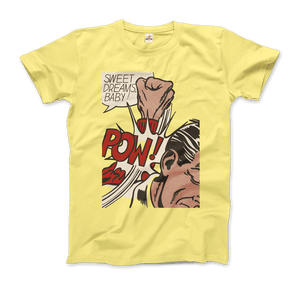 Roy Fox Lichtenstein, Sweet Dreams Baby! 1965 T-Shirt - Men / Spring Yellow / Small by Art-O-Rama