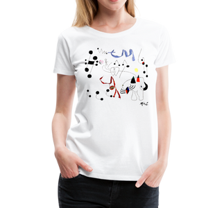 Joan Miro Woman Dreaming of Escape 1945 Artwork T-Shirt