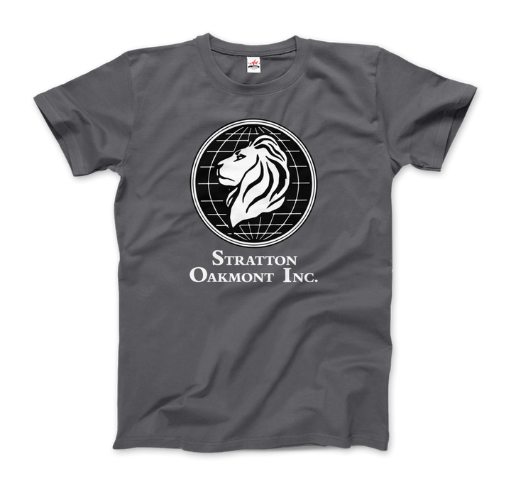 Stratton Oakmont, Inc. Logo, Wolf of Wallstreet T-Shirt - Men / Charcoal / Small by Art-O-Rama