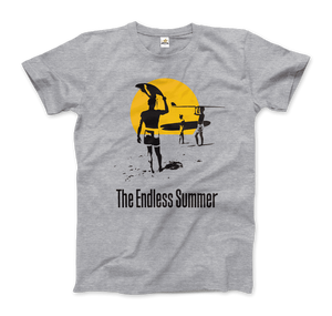The Endless Summer 1966 Surf Documentary T-Shirt - Men / Heather Grey / Small by Art-O-Rama