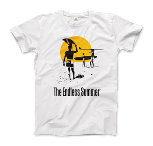 The Endless Summer 1966 Surf Documentary Artwork T-Shirt - Men / White / Small by Art-O-Rama