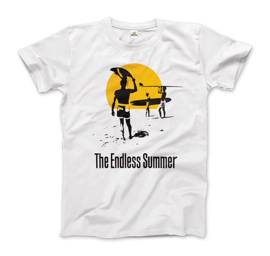 The Endless Summer 1966 Surf Documentary T-Shirt - Men / White / Small by Art-O-Rama