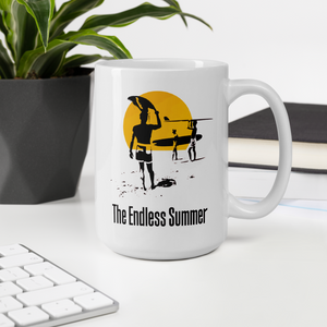 The Endless Summer 1966 Surf Documentary Poster Artwork Mug - [variant_title] by Art-O-Rama
