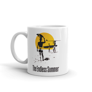 The Endless Summer 1966 Surf Documentary Poster Artwork Mug - Art-O-Rama