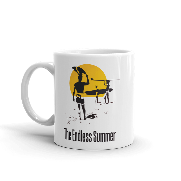The Endless Summer 1966 Surf Documentary Mug - 11oz (325mL) by Art-O-Rama