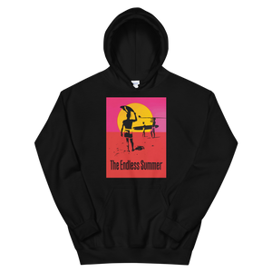The Endless Summer 1966 Surf Documentary Poster Unisex Hoodie - Black / S by Art-O-Rama