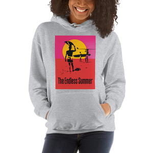 The Endless Summer 1966 Surf Documentary Poster Unisex Hoodie - [variant_title] by Art-O-Rama