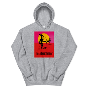 The Endless Summer 1966 Surf Documentary Unisex Hoodie - Sport Grey / S by Art-O-Rama