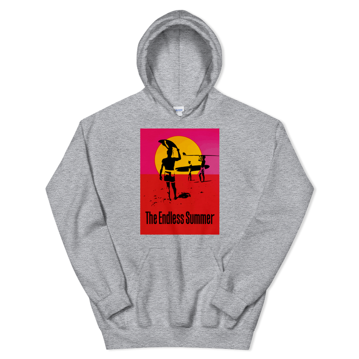 The Endless Summer 1966 Surf Documentary Poster Unisex Hoodie - Art-O-Rama