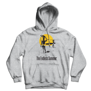 The Endless Summer 1966 Surf Documentary Unisex Hoodie - Sport Grey / S - Hoodie