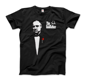 The Godfather 1972 Movie Don Corleone T-Shirt - Men / Black / Small by Art-O-Rama