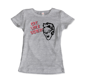 The Lost Boys - David - Cry Little Sister T-Shirt - Women / Heather Grey / Small - T-Shirt