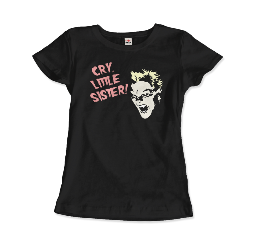 The Lost Boys - David - Cry Little Sister T-Shirt - Women / Black / Small - T-Shirt