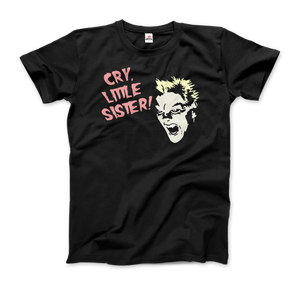The Lost Boys - David - Cry Little Sister T-Shirt - Men / Black / Small - T-Shirt