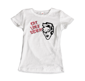 The Lost Boys - David - Cry Little Sister T-Shirt - Women / White / Small - T-Shirt