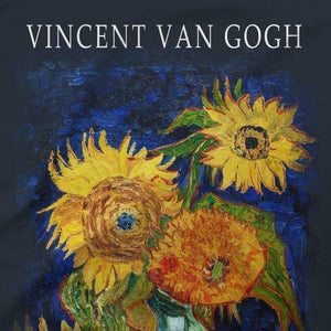 Van Gogh Five Sunflowers 1888, Artwork T-Shirt - [variant_title] by Art-O-Rama