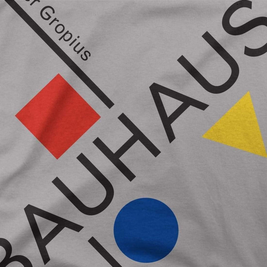 Walter Gropius Bauhaus Artwork T-Shirt - [variant_title] by Art-O-Rama