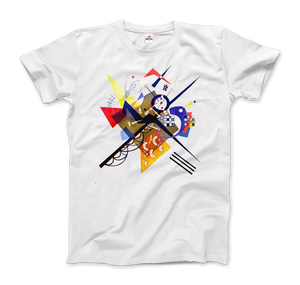 Wassily Kandinsky On White II (Auf Weiss) 1923, Artwork T-Shirt - Men / White / Small by Art-O-Rama