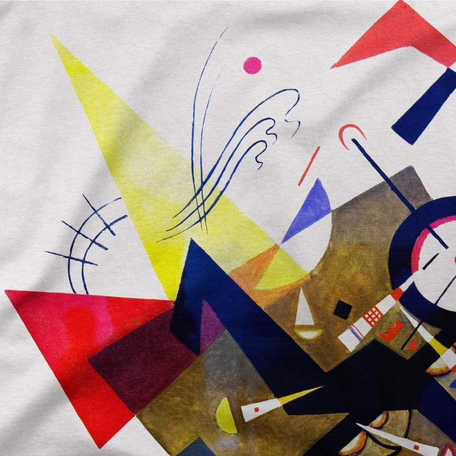 Wassily Kandinsky On White II (Auf Weiss) 1923, Artwork T-Shirt - [variant_title] by Art-O-Rama