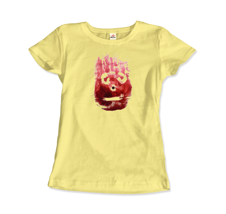 Wilson the Volleyball, from Cast Away Movie T-Shirt - Women / Spring Yellow / Small by Art-O-Rama