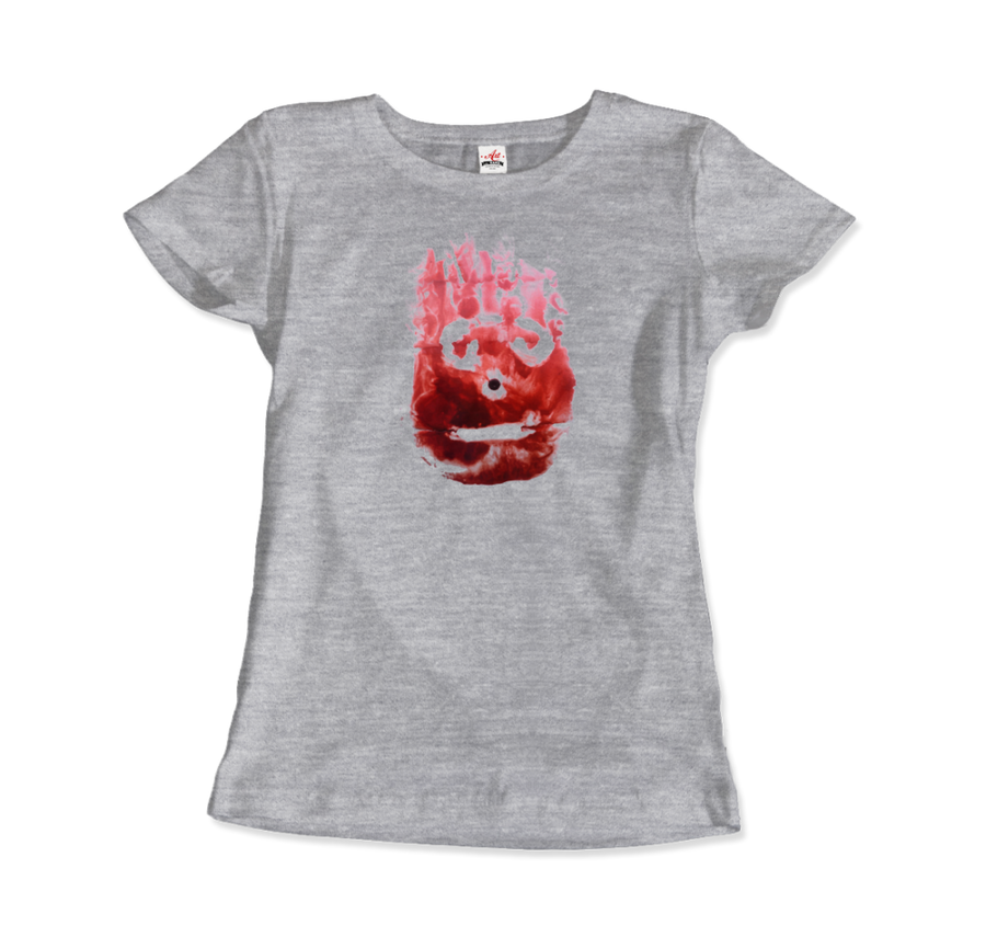 Wilson the Volleyball, from Cast Away Movie T-Shirt - Women / Heather Grey / Small by Art-O-Rama