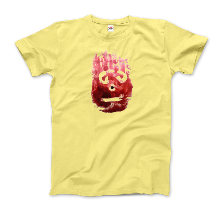 Wilson the Volleyball, from Cast Away Movie T-Shirt - Men / Spring Yellow / Small by Art-O-Rama