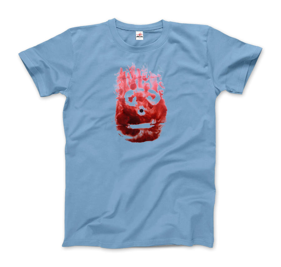 Wilson the Volleyball, from Cast Away Movie T-Shirt - Men / Light Blue / Small by Art-O-Rama