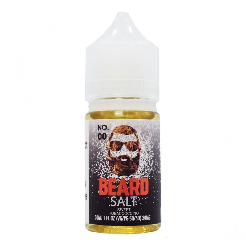 Beard Salts No. 00 Sweet Tobaccoccino | 30ml - Ohm City Vapes