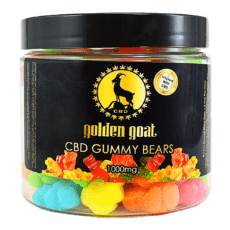 Golden Goat CBD Gummies 1000mg - ESWSupply
