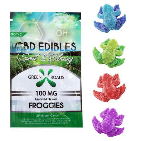 GreenRoads 100mg Froggies - ESWSupply