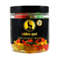Golden Goat CBD Gummies Bears no sugar 500mg - ESWSupply