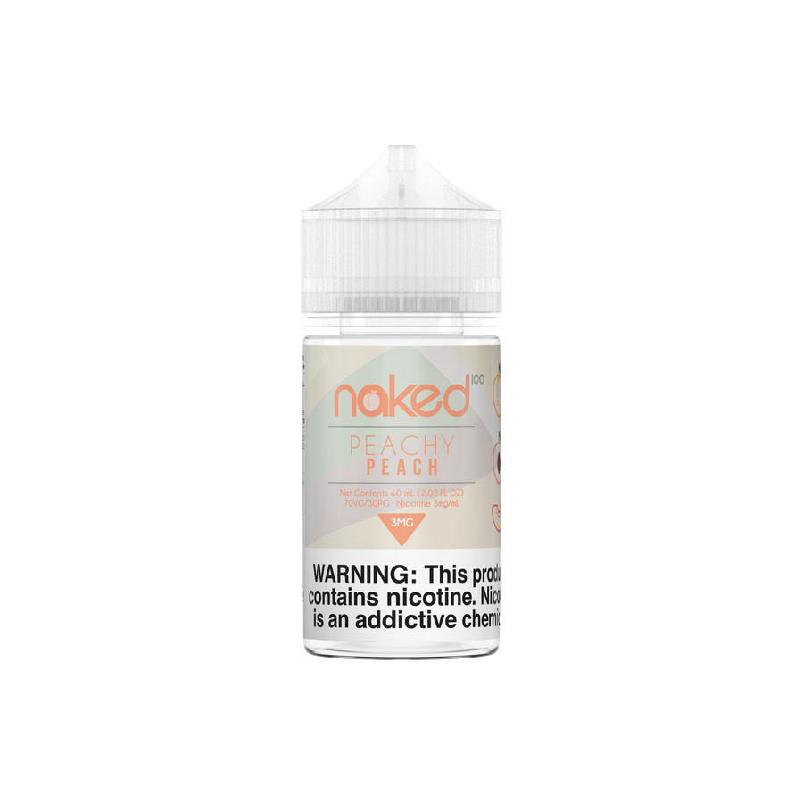 Peachy Peach by Naked 100 - 60ml - Ohm City Vapes
