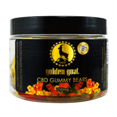 Golden Goat CBD Gummies 750mg NO SUGAR - ESWSupply