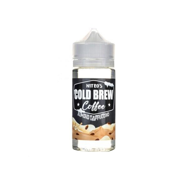 ALMOND CAPPUCCINO NITRO'S COLD BREW COFFEE E-LIQUID 100ML