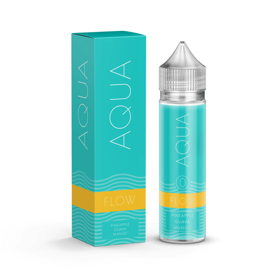 FLOW E JUICE BY AQUA 60ML - Ohm City Vapes
