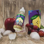 ICED REDS Grape Apple Juice by 7 Daze - 60ml - Ohm City Vapes