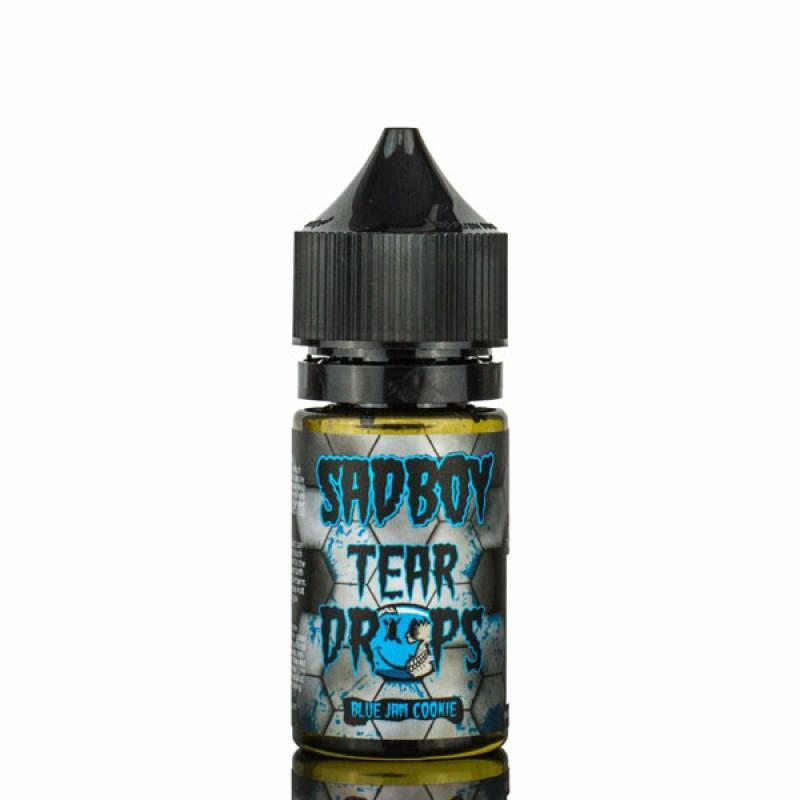 Blueberry Jam by SadBoy Tear Drops Salt - Ohm City Vapes