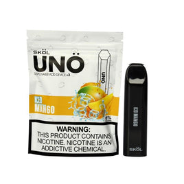 SKOL UNO DISPOSABLE KIT- Mango Ice - Ohm City Vapes