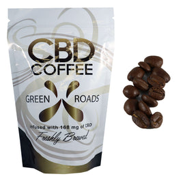 GreenRoad CBD Coffee 168mg - ESWSupply