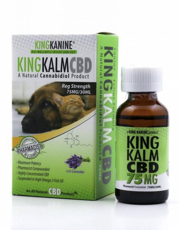 GreenRoads King Calm Oil For Pets - ESWSupply