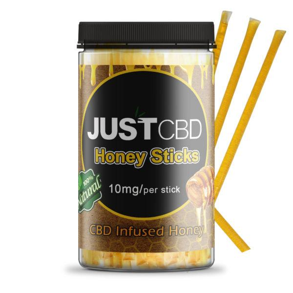 JUSTCBD HONEY STICKS 10ml - ESWSupply