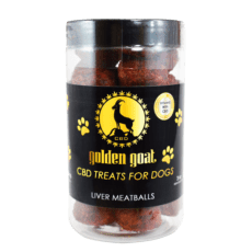 Golden Goat Pet Treats Liver Meatballs - ESWSupply